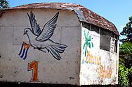 Beer wagon in Taco Taco, Pinar del Rio, Cuba.