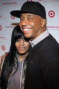 l to r: Teyana Taylor and Russell Simmons at The Rush Philanthropic Arts Foundation's 9th Annual Youth Holiday Party Sponsored by Target. The annual holiday event brings together over 500 at-risk young people affiliated with the 50 youth arts organizations Rush Philanthropic supports...In celebration of the creative energy of our New York City Youth, this annual holiday event is all about showing love and support for the kids, and letting them know that their hard work and many accomplishments through out the year don't go unnoticed.
