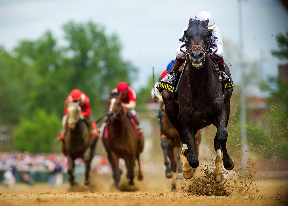 Take Charge Indy with Rosie Napravnik wins the Alysheba Stakes at Churchill Downs in Louisville, KY on May 03, 2013. (Alex Evers/ Eclipse Sportswire)