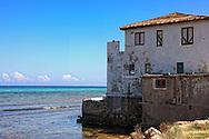 Waterfront house in Playa Baracoa, Artemisa, Cuba.