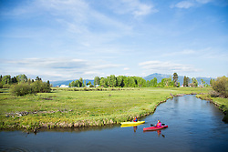 Wood River, which flows into Klamath Lake in Southern Oregon.
