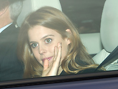 DEC 17 2014  Royals arrive at Buckingham Palace for the Queen Xmas Party