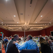 Dinner for the Board of Trustees at the Grand Hotel in Spokane. (Photo by Gonzaga University)