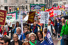 2014-07-10 Public Sector strike march in London