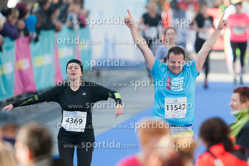 Runners during 20th Ljubljana Marathon 2015, on October 25, 2015 in Ljubljana, Slovenia. Photo by Urban Urbanc / Sportida.com