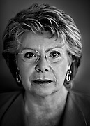 European Commissioner in charge of Justice, fundamental rights and citizenship, Luxembourger Viviane Reding