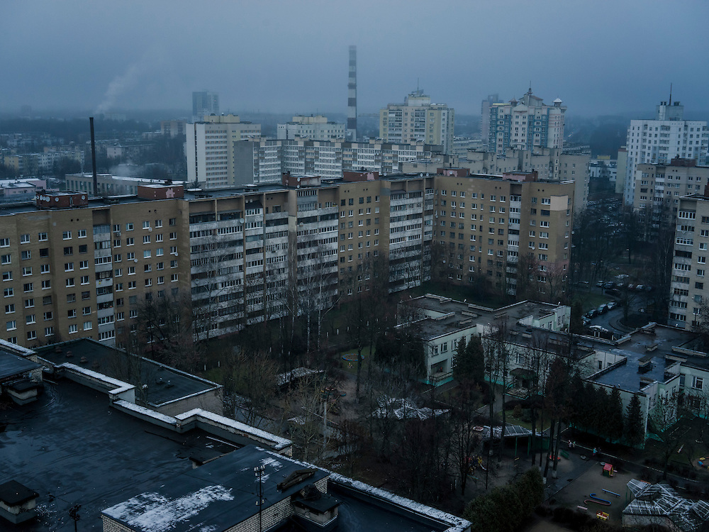 A view of the city on Monday, November 23, 2015 in Minsk, Belarus.