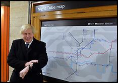 NOV 21 2013 Boris Johnson announces 24hour Tube