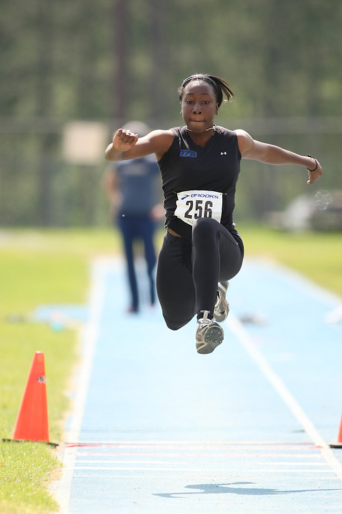 """(Ottawa, Ontario---20080622) """"Smith, Alicia of Take Flight Athletics"""" competing in the  at Supermeet I, the 2008 Ontario Track and Field Association (OTFA) Junior/Senior Track and Field Championships. This image is copyright Sean W. Burges, and the photographer can be contacted at seanburges@yahoo.com."""