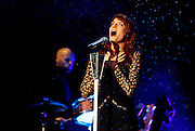 Florence Welch of Florence and the Machine performs live on the Main Stage on day 2 of the Reading Festival on August 25, 2012, Reading England (Photo by Simone Joyner)