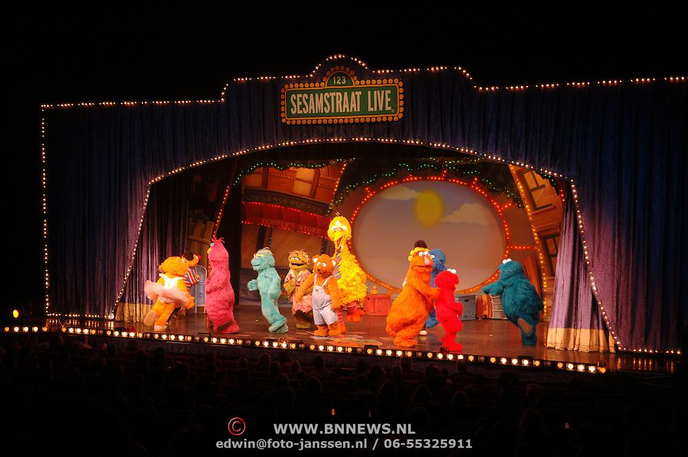 NLD/Rotterdam/20051221 - Premiere Sesamstraat Live,