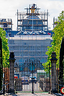 THE HAGUE - Palace Huis ten Bosch in The Hague, the new residence to be of the Dutch King and Queen.<br /> The renovation of the exterior, interieur, security and gardens are estimated for 59 million euro and will be ready end 2018, beginning 2019.  COPYRIGHT ROBIN UTRECHT<br /> 267/5000<br /> DEN HAAG - Paleis Huis ten Bosch in Den Haag, het nieuwe gebouw te zijn van de Nederlandse koning en de koningin.<br /> De renovatie van het exterieur, interieur, veiligheid en de tuinen zijn geschat voor 59 miljoen euro en zal klaar zijn eind 2018, begin 2019. COPYRIGHT ROBIN UTRECHT
