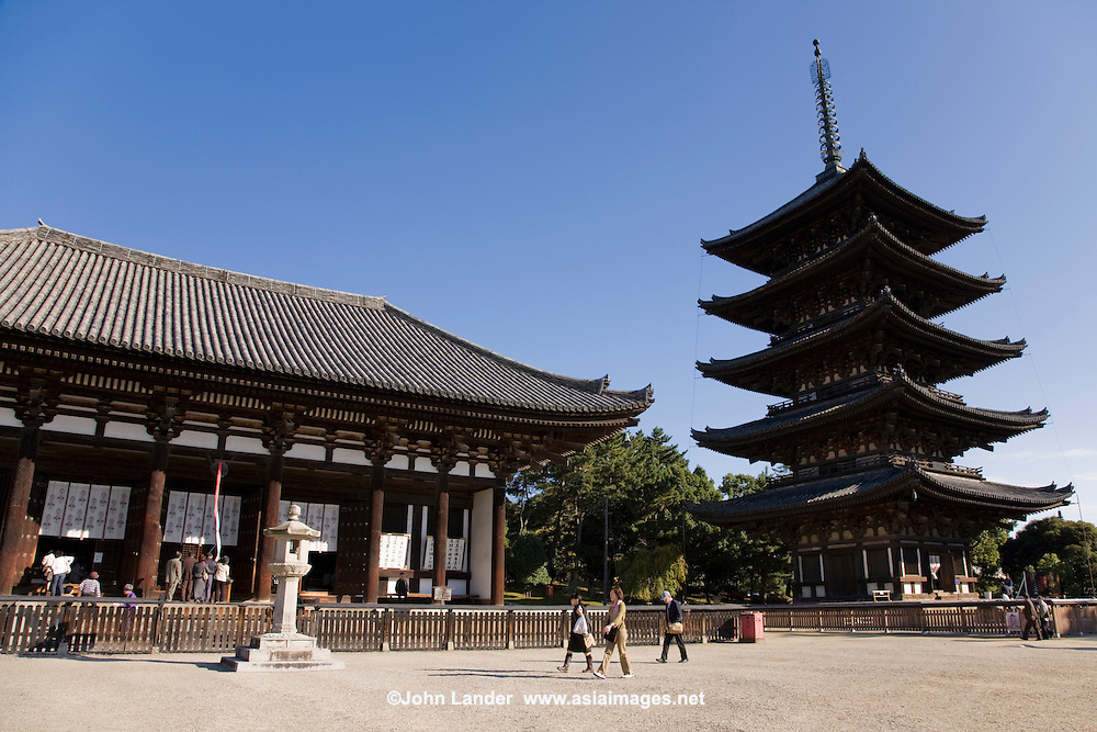 Kofukuji Temple, Nara  John Lander Photography
