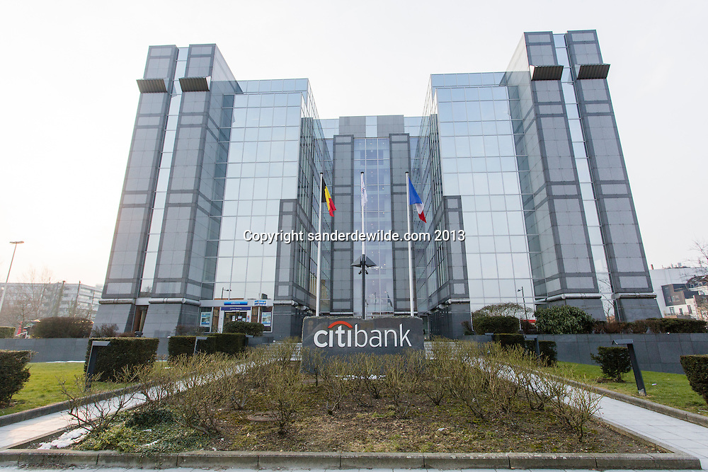 Brussels, Belgium 28 March 2013. Citibank Belgium will change its name to Beobank later this year.American Citigroup sold the bank to  French Crédit Mutuel Nord Europe in 2011 op. They promised to change its name. The name Citibank has a negative image due to the Lehman brothers scandal.