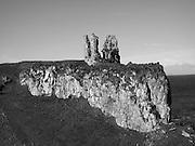 Dunseverick Castle, Dunseverick, Antrim. c.1540,