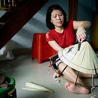 Tran Thi Thuy, hat maker from Hue