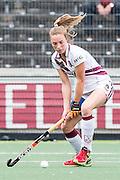 AMSTERDAM - Amsterdam - Den Bosch , Wagener Stadion , Hockey , Play-off hoofdklasse hockey , 03-05-2015 , Amsterdam speelster Sian Keil