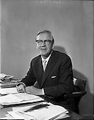 1961 - Arthur Rae Public Relations Officer of Irish Shell