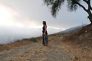 Naomi Louise Warne portraits in Malibu, CA 7/21/2007.