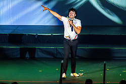 ANAHEIM, CA - JULY 25: Mexican actor and comedian Adrian Uribe performed two spectacular sold out shows of his characters: Carmelo, Cheman Montes, Poncho Aurelio, Serapio Treviño and El Vitor at M3 Live on July 25, 2015 in Anaheim, California. Byline, credit, TV usage, web usage or linkback must read SILVEXPHOTO.COM. Failure to byline correctly will incur double the agreed fee. Tel: +1 714 504 6870.