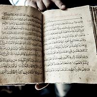 Bukhara, Uzbekistan 23 March 2012<br /> Ancient koran manuscript.<br /> PHOTO: EZEQUIEL SCAGNETTI
