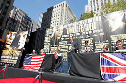 September 19, 2007; New York, NY, USA; HBO's Mark Taffet at the press conference announcing the bout between World Welterweight Champion Floyd Mayweather Jr and World Junior Welterweight Champion Ricky Hatton.  The fight will take place on December 8, 2007 at the MGM Grand Garden Arena in Las Vegas, Nevada.