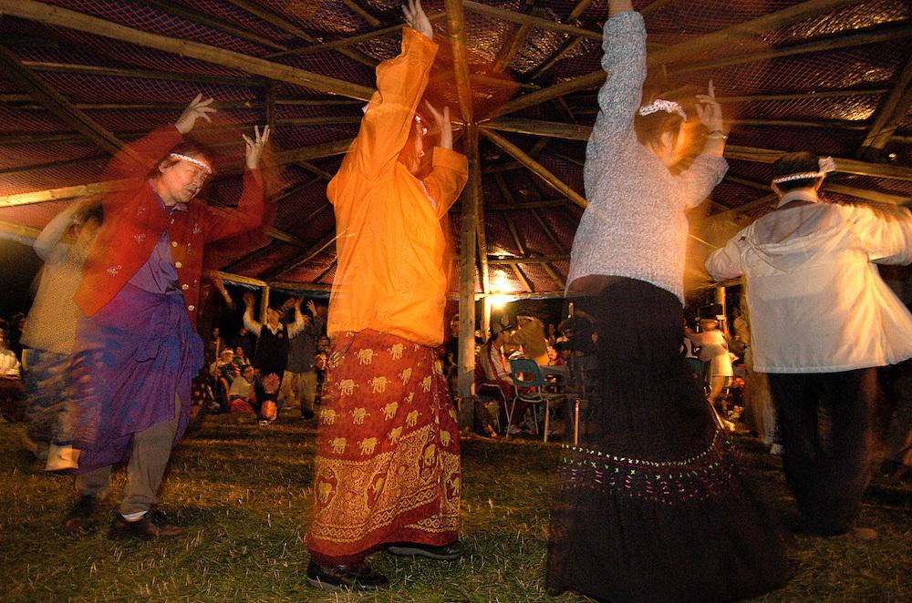 Spiritual Gathering de Kitigan Zibi, Maniwaki, Outaouais, 2003.