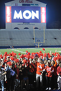 "Filming of a new ""Feed Moncrief"" video at Vaught-Hemingway Stadium in Oxford, Miss. on Thursday, December 6, 2012."