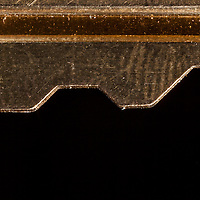 Macro image of a key edge.