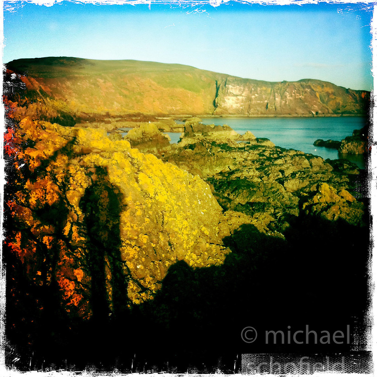 St Abbs..Hipstamatic images taken on an Apple iPhone..©Michael Schofield.
