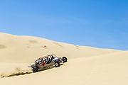 Dune buggy ride with Sandland Adventures at Oregon Dunes National Recreation Area on the Oregon Coast.