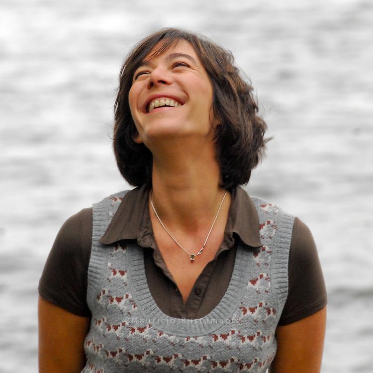 Moderatorin Sandra Maahn