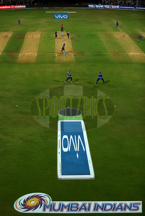 General view of the ground during match 1 of the Vivo Indian Premier League ( IPL ) 2016 between the Mumbai Indians and the Rising Pune Supergiants held at the Wankhede Stadium in Mumbai on the 9th April 2016<br /> <br /> Photo by Sandeep Shetty/ IPL/ SPORTZPICS