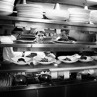 In the heat of Restaurant Eighteen's kitchen Executive Chef Matthew Carmichael is in his element.