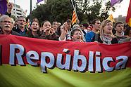 Spain - Republic Protest in Barcelona