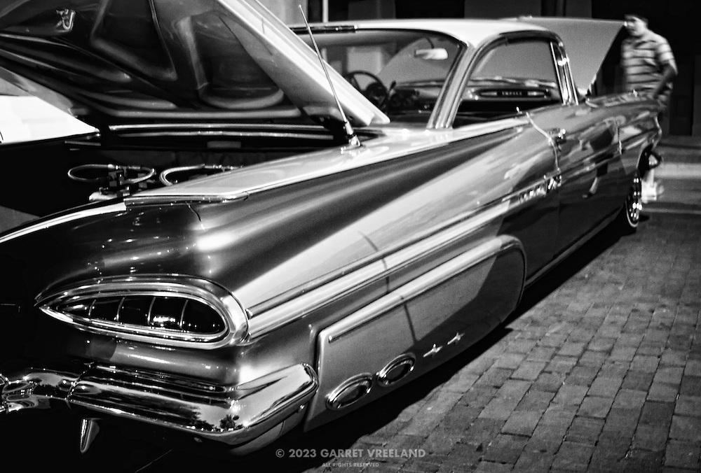 Vintage Chevrolet Impala.