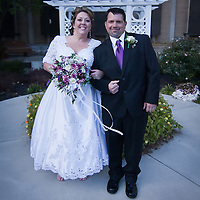 11/11/11 Elkton MD: Susan Lynn McGinnis and Michael Paul Daugherty during their wedding Friday, Nov. 11, 2011 at Elkton Wedding Chapel in Elkton Maryland...Special to The News Journal/SAQUAN STIMPSON