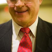"""Ties"" - Job seekers are dressed for success at a job fair in Arlington, VA on Friday, Jan. 15, 2010."