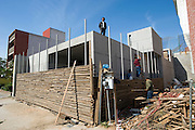 Tijuana Mexico ..San Diego based architect Sebastian Marisco often works on projects in Tijuana..While working on this long term project 'La Frontera' I want to examine the cultural and humanitarian activities on both sides of a border that keeps the United States and Mexico apart with a wall of steel already 600 miles long. The turf wars of drug cartels, arms trafficking and rampant kidnappings turned cities like Tijuana into some of the most dangerous places on earth. Despite the violence many brave artists, photographers, architects, poets, humanitarians, teachers etc live and work in the shadow of the wall on both sides and have a positive influence on this region; they are the focus of my long term project along the border. (Over time I plan to cover the entire length from the Atlantic to the Pacific, these images were taken in and around Tijuana).© Stefan Falke