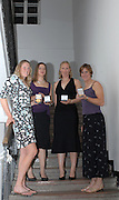 Budapest, HUNGARY, 10/11/2007.  GBR W4X Female Crew of the year [2006],  at the 2007 FISA Coaches Conference. left to right, Frances HOUGHTON, Annie VERNON, Debbie FLOOD, Katherine GRAINGER. [Mandatory Credit Peter Spurrier/Intersport Images]