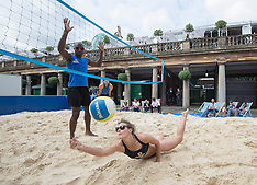 JUL 30 2014 GB Volleyball stars ahead of Rio 2016