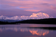 Sunrise Mount McKinley Wonder Lake, Denali Natl.Park Preserve, Alaska, USA