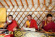 Priests at the Erdene Zuu Monastery