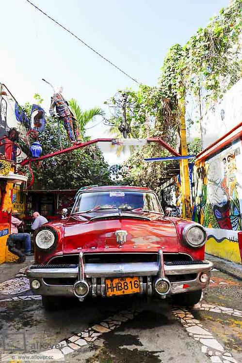 Cuba, La Habana Vieja, old town Havana, art district, Habana