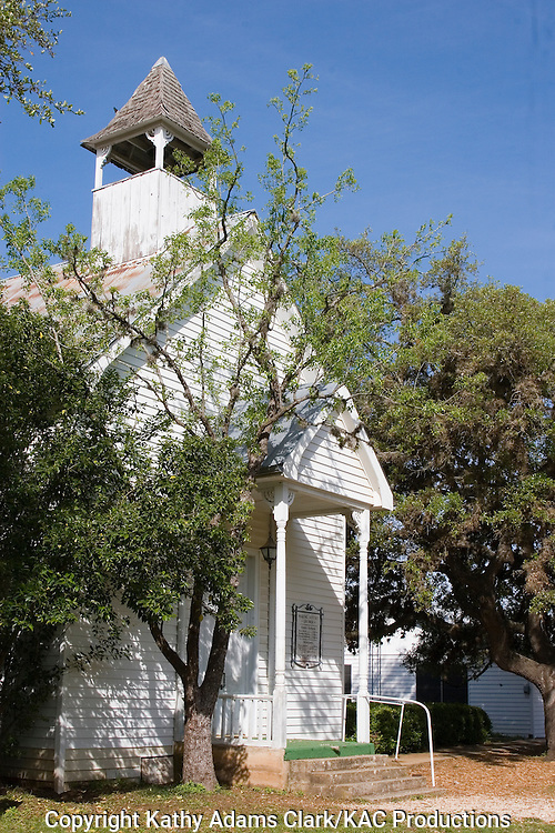 The Waring Baptist Church in Waring, Texas, is on Manning Street off FM 1621.