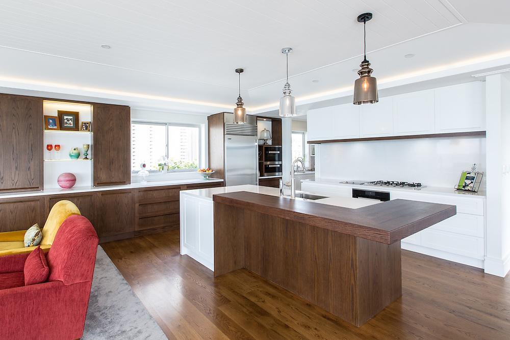 Boocock residence - Kitchen Link.  September 2015. Photo: Gareth Cooke / Subzero Images