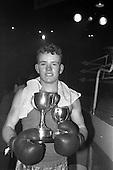 1963 - National Junior Boxing Championships at the National Stadium, Dublin.