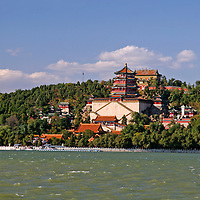 Asia, China, Beijing. The Summer Palace and gardens, a UNESCO World Heritage Site.