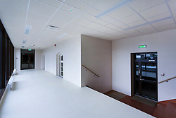 H. Eller music school, college in Tartu, Estonia. Empty corridor.