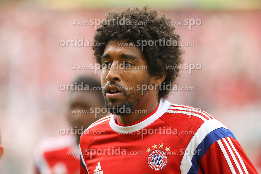 17.08.2014, Preussenstadion, Muenster, GER, DFB Pokal, SC Preussen Muenster vs FC Bayern Muenchen, 1. Runde, im Bild Dante (FC Bayern Muenchen #4) // during the 1st round match of German DFB Pokal between SC Preussen Muenster vs FC Bayern Munich at the Preussenstadion in Muenster, Germany on 2014/08/17. EXPA Pictures &copy; 2014, PhotoCredit: EXPA/ Eibner-Pressefoto/ Schueler<br /> <br /> *****ATTENTION - OUT of GER*****